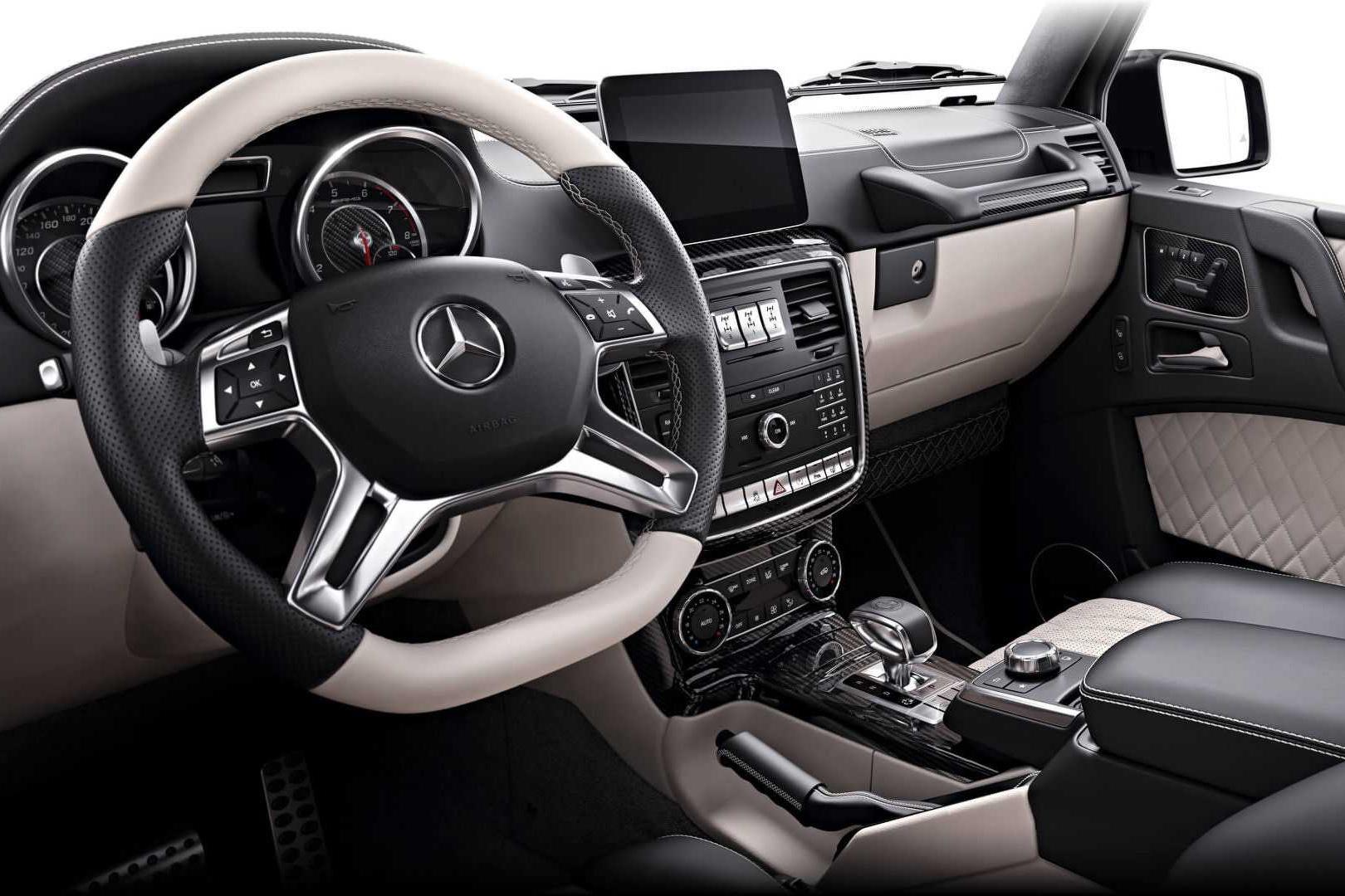 资讯生活50周年Mercedes-AMG纪念版G63车型