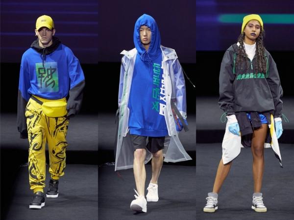X玖少年团现身Metersbonwe新品发布会现场,八位少年身着甲骨文系列新款潮服,在与粉丝的互动游戏中,将更多汉字与象形文字一一对应,展现中华文化的博大精深,在座粉丝们的热情点燃了全场。