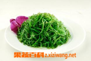 果蔬百科裙带菜